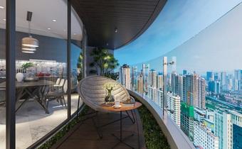 Vườn xanh giữa tầng không – tiêu chuẩn mới của BĐS hạng sang
