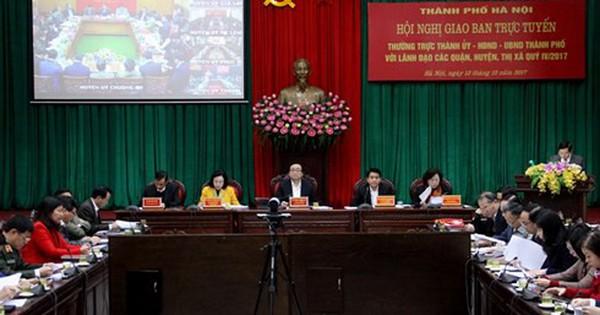 Hà Nội phát hiện 2.000 công trình vi phạm trong năm 2017