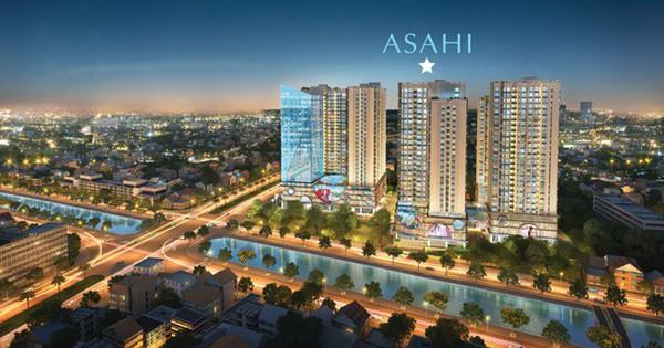 Hinode City chính thức ra mắt tòa mới – Asahi Tower