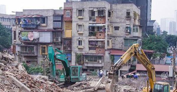 Cần cưỡng chế để xây lại chung cư cũ Hà Nội