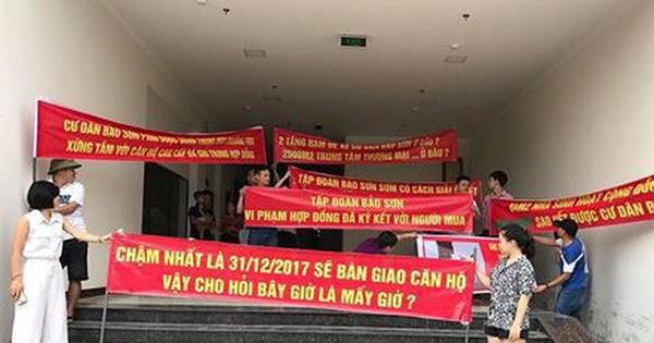 """""""Lùm xùm"""" chung cư Bảo Sơn: CĐT """"đổ vấy"""" do chỉ thị của tỉnh Nghệ An"""