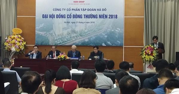 ĐHCĐ Hà Đô: Năm 2018 đẩy mạnh BĐS nghỉ dưỡng, tiến sâu vào thị trường BĐS tại Lào