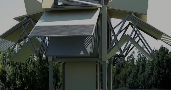 Choáng ngợp trước những ngôi nhà di động biết biến hình như robot