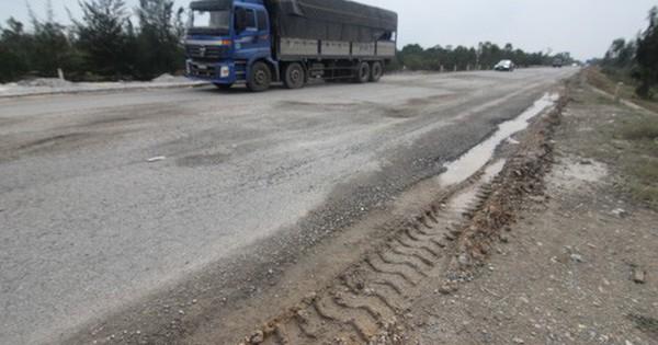 Vì sao đường trên 100 tỉ vừa đi đã hỏng?