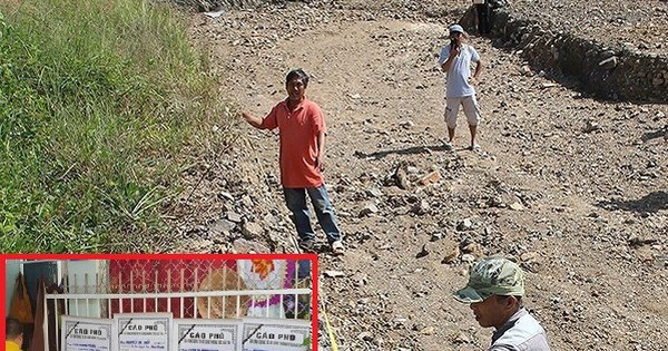 """""""Bom nước"""" vỡ, 4 người chết ở Khánh Hòa: Sở Xây dựng nói không có hồ bơi, chủ đầu tư nói hồ bơi là """"mương đón nước"""""""