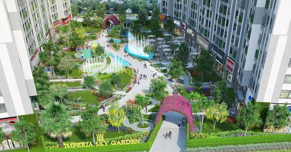 Imperia Sky Garden: Giúp cư dân tận hưởng ngày hè