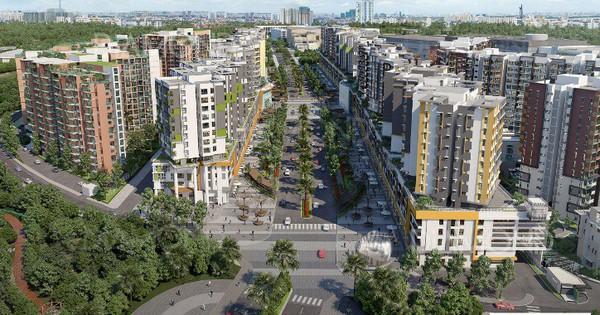 Đại lộ Gamuda – Dấu ấn Singapore tại Tây Sài Gòn
