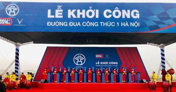 Vingroup khởi công xây dựng đường đua công thức 1 tại Hà Nội