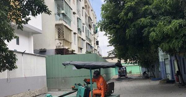 Chung cư nghiêng – 518 Võ Văn Kiệt, quận 1 phát ra tiếng động lớn