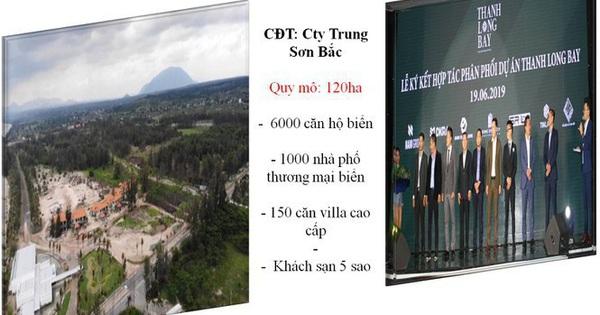 Siêu dự án Thanh Long Bay chưa được duyệt quy hoạch đã rao bán rầm rộ