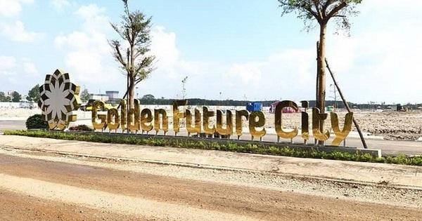 """Bình Dương xử phạt dự án Golden Future City xây """"chui"""""""