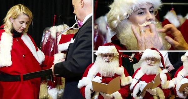 Bên trong trường học đào tạo ông già Noel duy nhất ở Anh, nơi mỗi bộ đồ trị giá hơn 30 triệu và bắt buộc phải học thuộc tên từng con tuần lộc