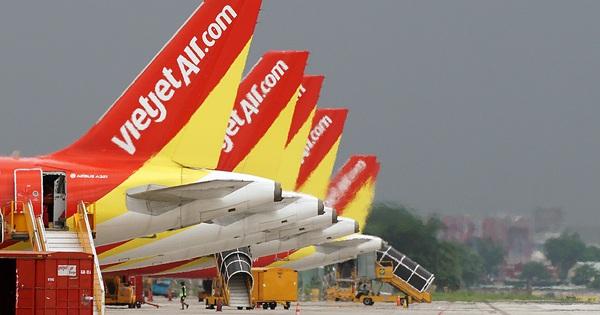 Vietjet giảm 50% giá vé trên tất cả các đường bay