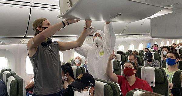 Bamboo Airways đưa khách Lít-va và EU hồi hương ngày 31/3, dừng nhận chở khách về Việt Nam trong giai đoạn cao điểm phòng chống Covid-19
