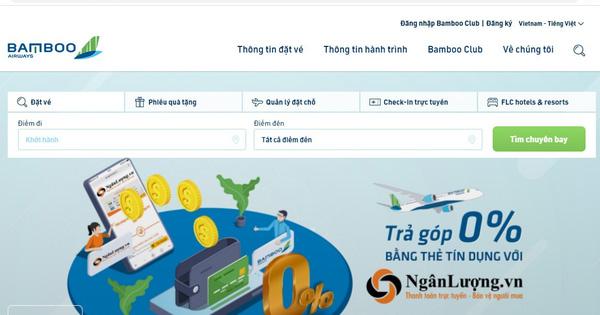 Bay Bamboo Airways thỏa thích với vé máy bay trả góp trực tuyến không lãi suất