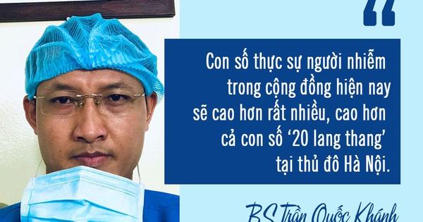 Bác sĩ BV Việt Đức cảnh báo: Số người nhiễm Covid-19 trong cộng đồng sẽ còn cao hơn nữa, đây là 9 điều ai cũng phải làm lúc nguy cấp này để hạn chế lây lan