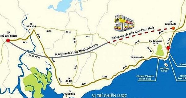 Cao tốc Phan Thiết -Dầu Giây dự kiến khởi công vào cuối quý 3