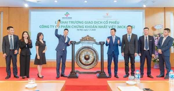 Chứng khoán Nhất Việt (VFS) chào sàn UPCom, kế hoạch tăng vốn lên 800 tỷ đồng trong năm 2020