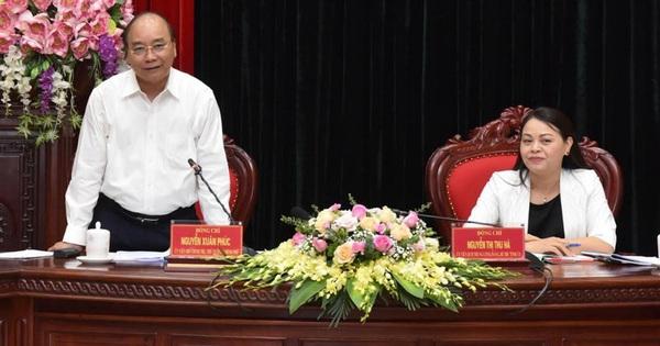 Thủ tướng: Ninh Bình cần tự cân đối thu-chi vào năm đầu nhiệm kỳ tới