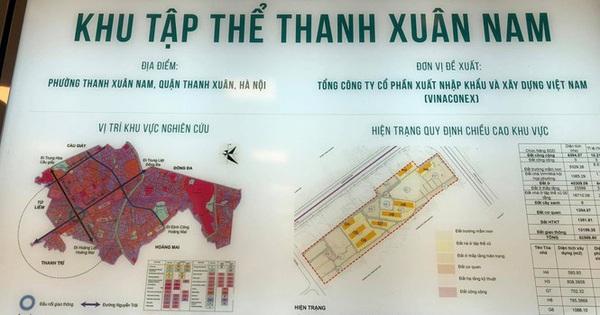 Vinaconex muốn biến khu tập thể Thanh Xuân Nam thành 6 toà chung cư có chiều cao từ 30- 50 tầng