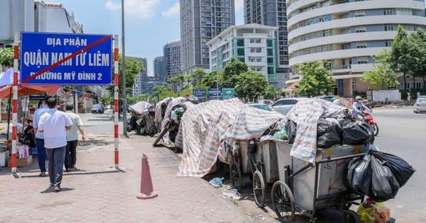 3 ngày bãi Nam Sơn bị chặn: Các quận nội thành tồn gần 10.000 tấn rác