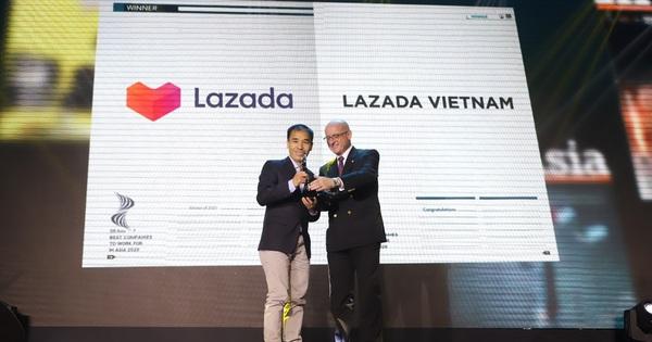 Lazada là nền tảng TMĐT duy nhất được vinh danh ''Nơi làm việc tốt nhất Châu Á năm 2020'' tại Việt Nam