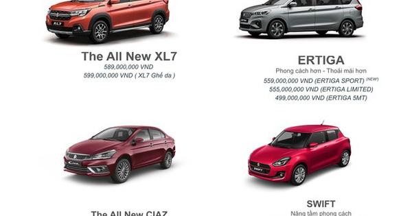Suzuki chốt 4 sản phẩm chủ lực tại VN: XL7 thêm bản mới đấu Xpander, Ciaz giá 529 triệu đấu Vios
