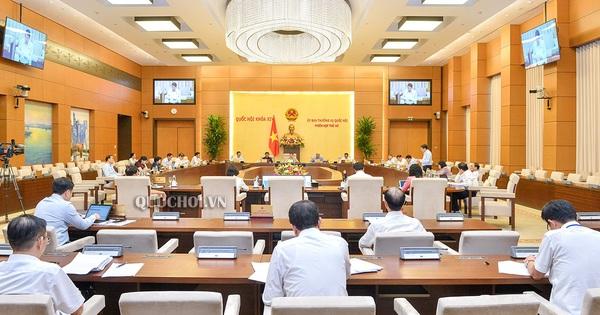 Ủy ban Thường vụ Quốc hội xem xét, quyết định phê chuẩn bổ nhiệm nhân sự