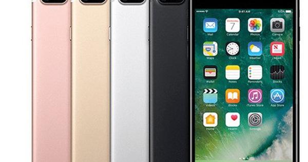 iPhone 7 Plus giảm giá ''chạm đáy'' tại Việt Nam