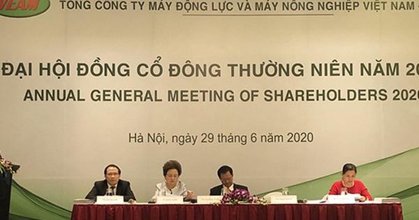 Họp ĐHĐCĐ VEAM: Bà Nguyễn Thị Nga đề nghị thời gian chia cổ tức, hoàn thành quyết toán cổ phần hóa