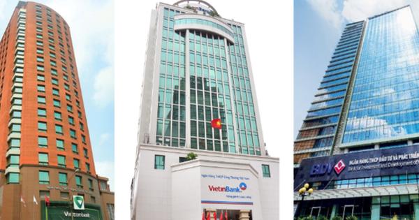Biến động kết quả kinh doanh của 3 ngân hàng Vietcombank, VietinBank và BIDV