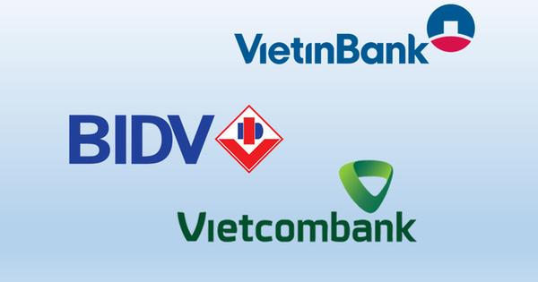 So găng 3 ''ông lớn'' ngân hàng Vietcombank, VietinBank, BIDV