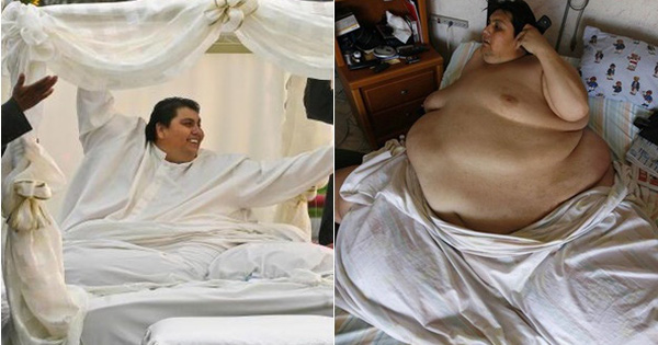 Cận cảnh cuộc sống của người đàn ông nặng nhất thế giới gần 600kg, cả khi cưới và lúc chết đưa tang đều phải thuê xe tải cỡ lớn