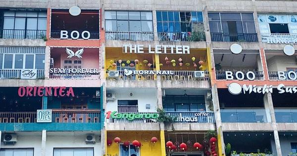 Chung cư ''đầy ắp'' nhà hàng, quán cà phê gây chú ý trên mạng xã hội quốc tế