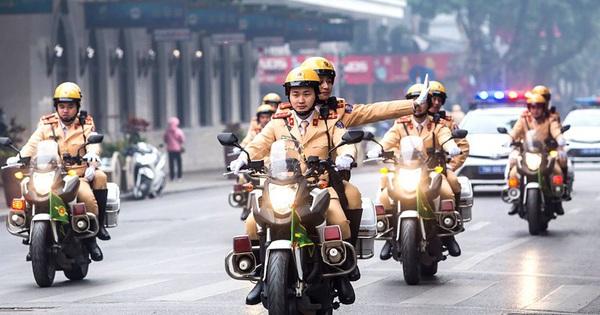 Hà Nội phân luồng giao thông phục vụ Đại hội Đảng XIII
