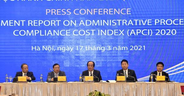 APCI 2020: Nhóm thủ tục đầu tư đi ''thụt lùi'' cho thấy cải cách cần bền bỉ