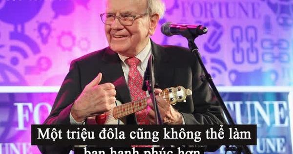 Chỉ sử dụng 1% cho bản thân và sẵn sàng cho đi 99% tài sản: 7 bí mật để vừa thành công vừa sống hạnh phúc của tỷ phú Warren Buffett, ai cũng biết nhưng mấy người làm được