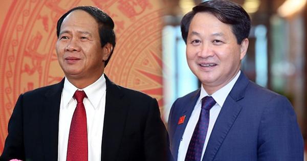 Infographic: Chân dung 2 tân Phó thủ tướng Lê Minh Khái, Lê Văn Thành