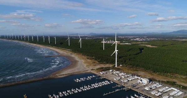 Mitsubishi Corp. sắp xây dựng nhà máy điện gió tại Lào để bán điện cho Việt Nam