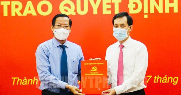 Thành ủy TPHCM chỉ định ông Vũ Anh Khoa làm Bí thư Đảng ủy Saigon Co.op
