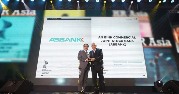 ABBANK nhận giải thưởng Top nơi làm việc tốt nhất châu Á năm 2020