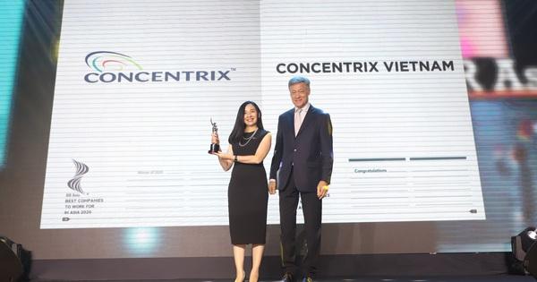 Concentrix Việt Nam chiến thắng giải thưởng ''HR Asia - Nơi làm việc tốt nhất Châu Á năm 2020''