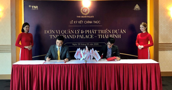 TNR Holdings Vietnam chính thức quản lý và phát triển dự án TNR Grand Palace Thái Bình