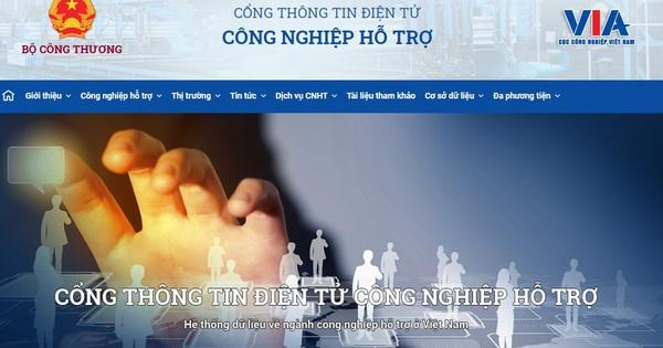 Sắp khai trương hệ thống cơ sở dữ liệu trong ngành công nghiệp chế biến chế tạo, công nghiệp hỗ trợ Việt Nam