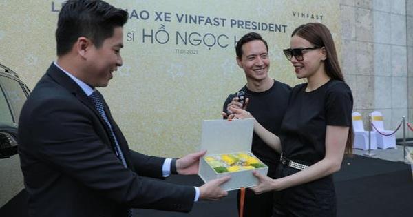 Hà Hồ - Kim Lý là 1 trong 500 người sở hữu xe siêu sang VinFast President