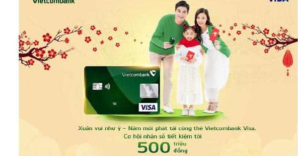 Tết về, hàng ngàn chủ thẻ Vietcombank Visa nhận ưu đãi bất ngờ