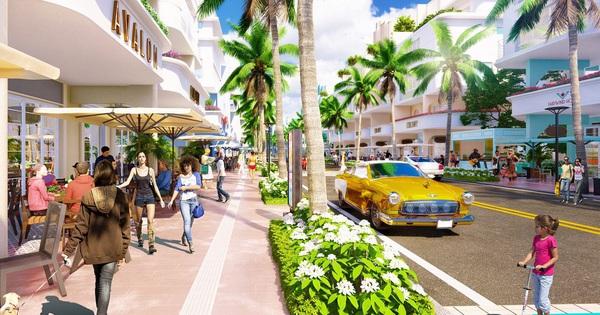 Sắc màu Miami tại thành phố nghỉ dưỡng ven sông Sun Riverside Village