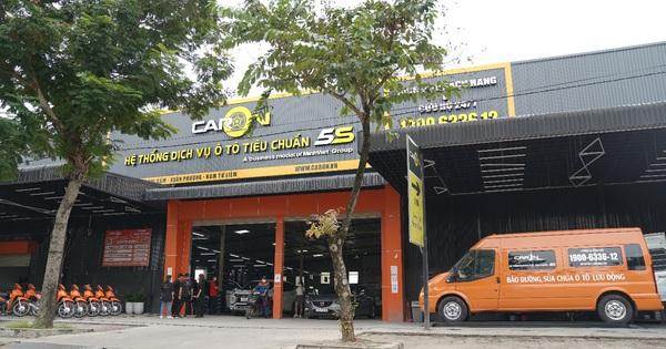 CarOn - Hệ thống garage ôtô tiêu chuẩn 5S chính thức được nhân rộng
