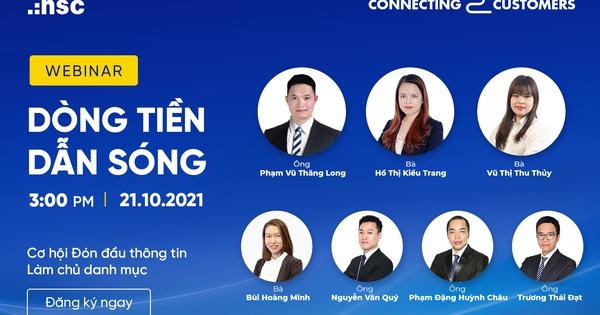 HSC tổ chức hội thảo trực tuyến tư vấn chiến lược đầu tư quý 4.2021
