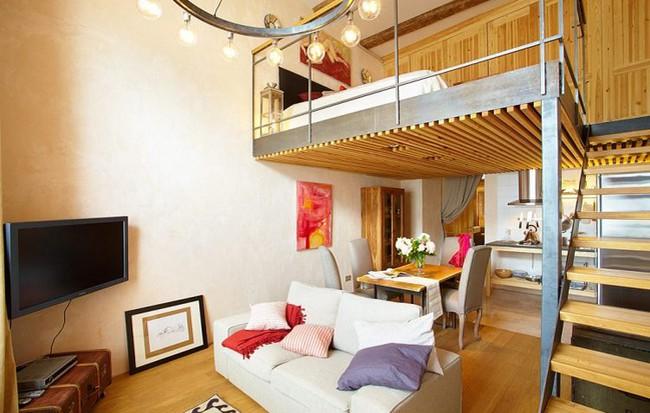 Mẫu thiết kế căn nhà chỉ  43m2 đẹp, tiện nghi